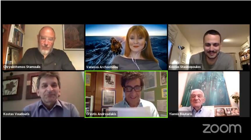Διαδικτυακή ανοιχτή συζήτηση για την Ανθρωπόκαινο Εποχή στο online 22οΦΝΘ