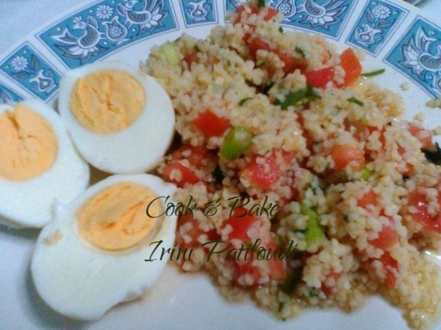 Ταμπουλέ (σαλάτα Λιβανέζικη)