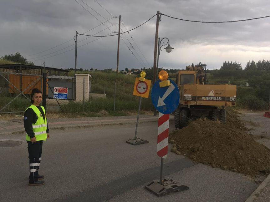 Έκλεισε η οδός Περικλέους που ενώνει Τρίλοφο μεΠλαγιάρι