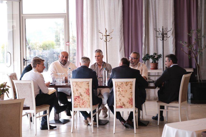 Συνάντηση της «Πρωτοβουλίας Εστίασης Θεσσαλονίκης» με τον Πρωθυπουργό κ. ΚυριάκοΜητσοτάκη
