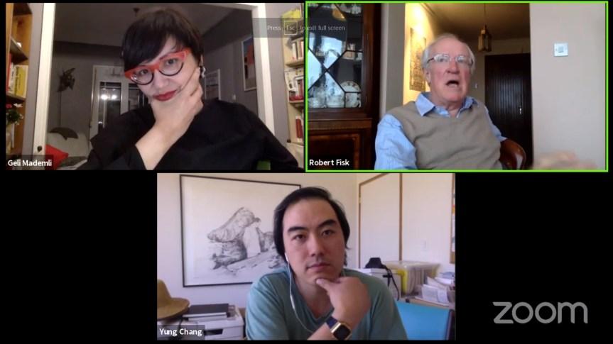22ο Φ.Ν.Θ. Ανοιχτή Συζήτηση Με Τους Ρόμπερτ Φισκ Και Τον Σκηνοθέτη ΓιούνγκΤσανγκ