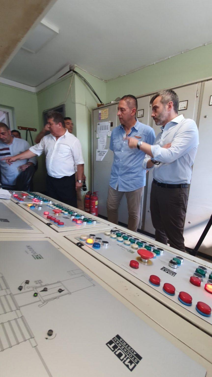 Τον αναβαθμισμένο ΣΜΑ επισκέφθηκε ο Κωνσταντίνος Ζέρβας: «Η καθαριότητα σταμάτησε να αποτελεί το νούμερο 1 πρόβλημα στηνπόλη»