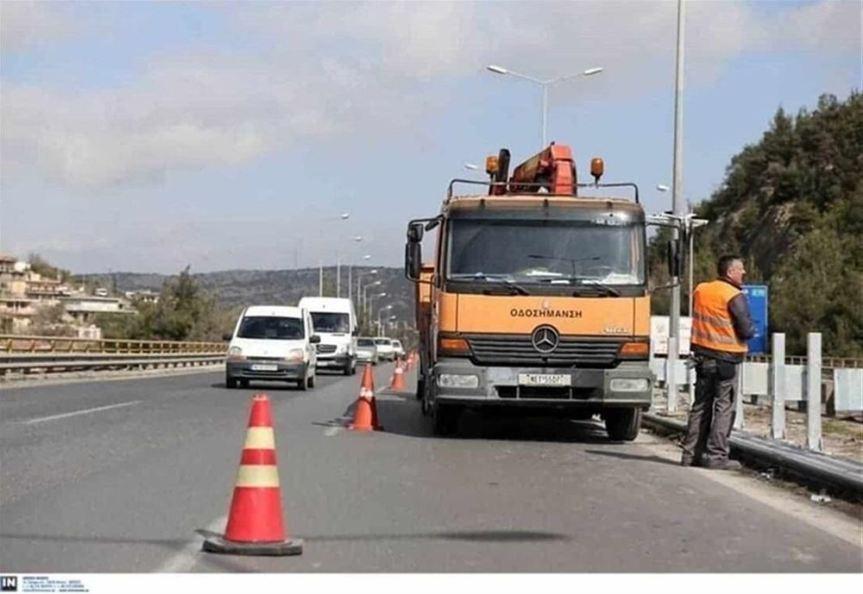 Συνεχίζονται οι εργασίες συντήρησης στην Επαρχιακή Οδό 3 Θεσσαλονίκης-Πανοράματος από την Περιφέρεια ΚεντρικήςΜακεδονίας