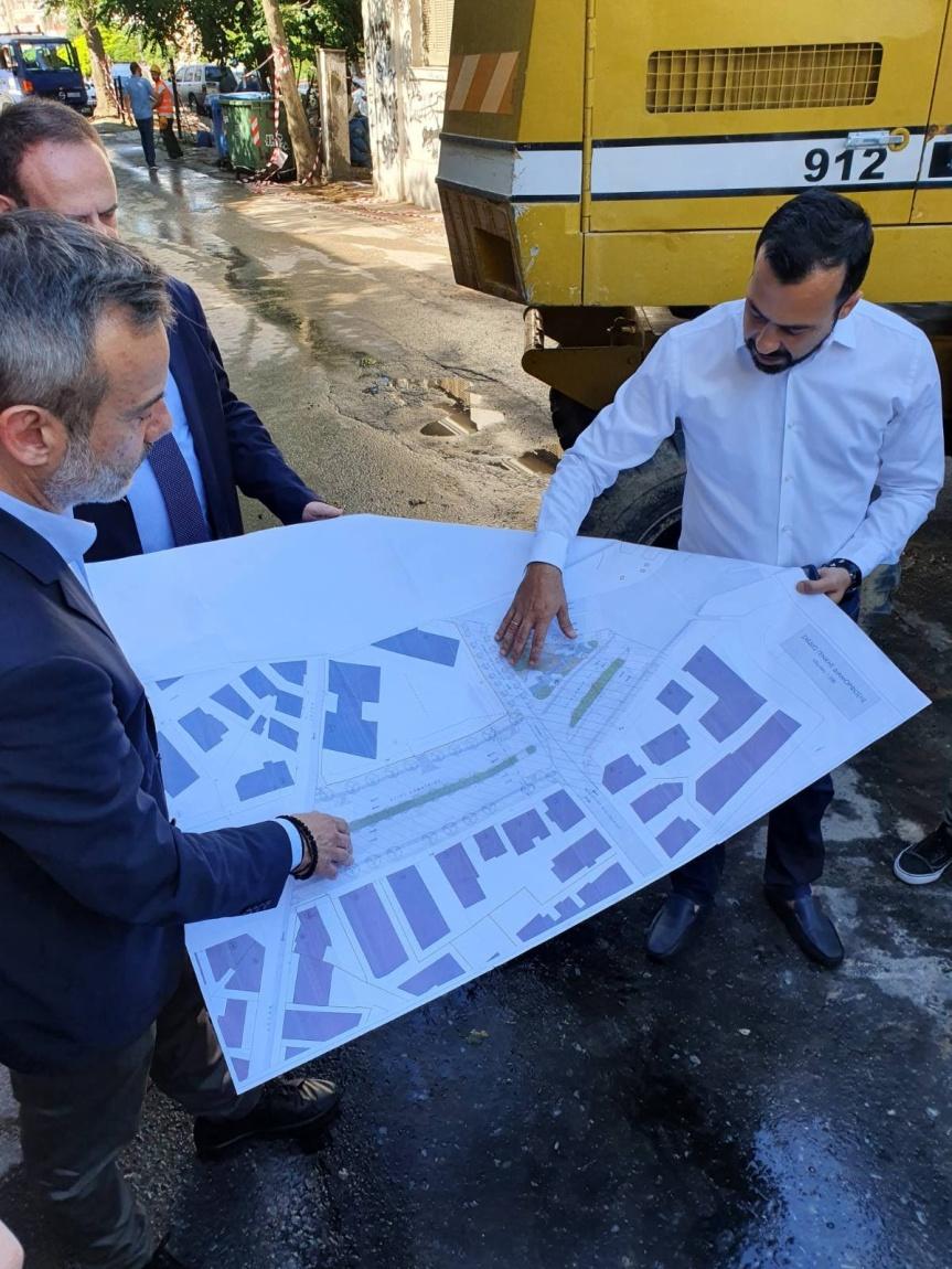 Άρχισαν οι κατεδαφίσεις στην Αγίου Δημητρίου – Άνοιξε ο δρόμος για τη  διάνοιξη τηςοδού