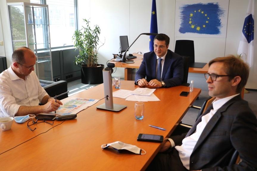 Σύσκεψη του Προέδρου της Ευρωπαϊκής Επιτροπής των Περιφερειών Απόστολου Τζιτζικώστα με τον Επίτροπο Διαχείρισης Κρίσεων της ΕΕ JanezLenarčič