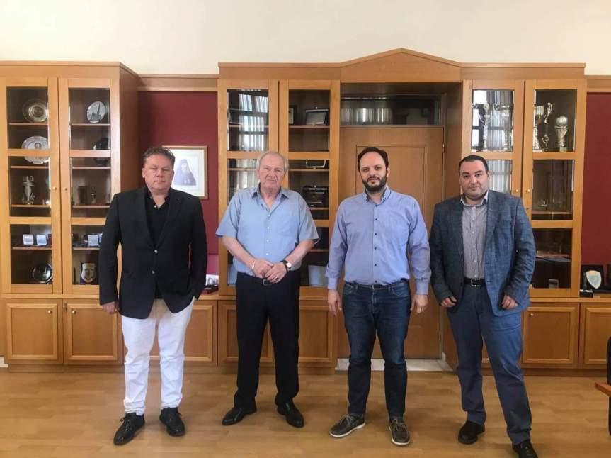 Συνάντηση Δημάρχου Καλαμαριάς με την Ομοσπονδία επιχειρηματιώνΠ.Ε.Θ