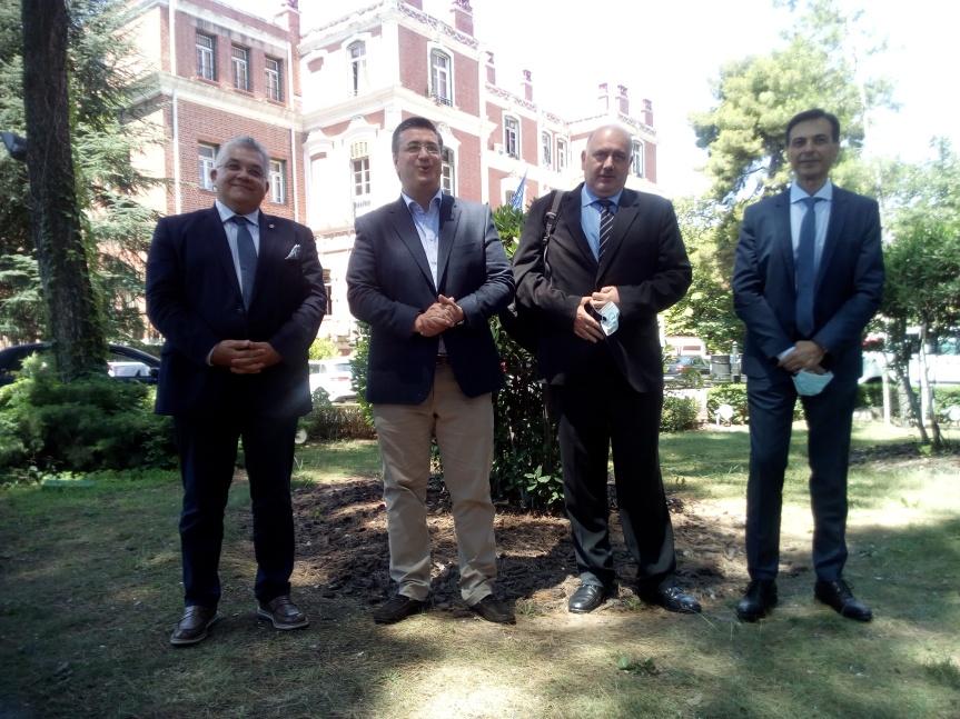 Σε όλη την Κεντρική Μακεδονία επεκτείνεται το πρόγραμμα παρακολούθησης του κορονοϊού στα λύματα με τη συνεργασία Περιφέρειας Κεντρικής  Μακεδονίας-ΑΠΘ-ΕΥΑΘ